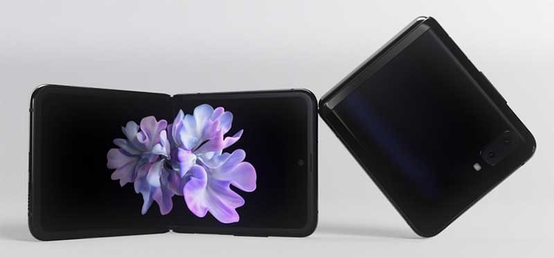 Samsung Galaxy Z Flip Ponsel lipat terbaik
