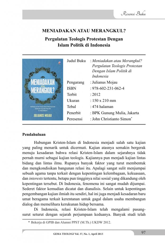 11 Contoh Resensi Buku Non Fiksi Ilmu Pengetahuan Fiksi Pelajaran Terupdate Evanazka