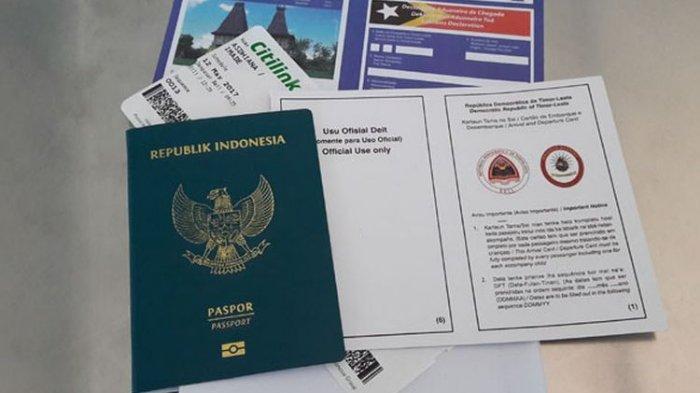 cara membuat e-paspor