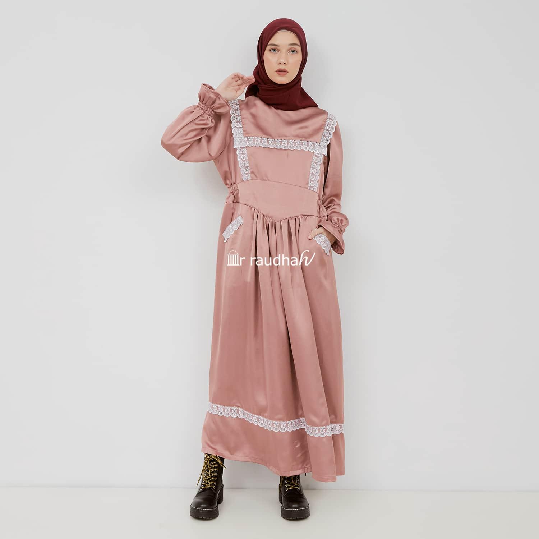 Busana Muslim Dusty Pink – 00012