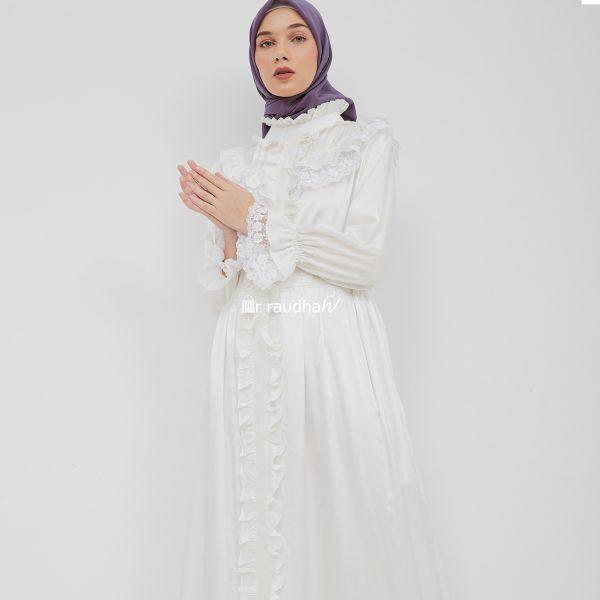 Busana Muslim Putih – 00014