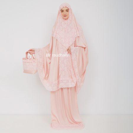 Ar-Raudhah Mukena Peach – 00004