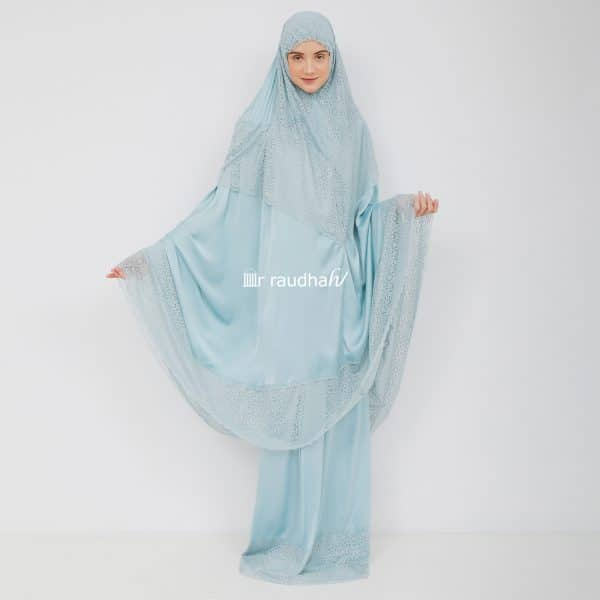 Ar-Raudhah Mukena Blue – 00005