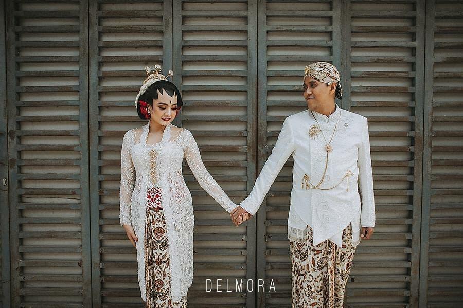 contoh model kebaya pengantin