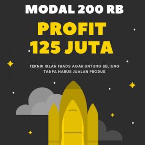 Bisnis Online Modal 200rb Profit 125 Juta